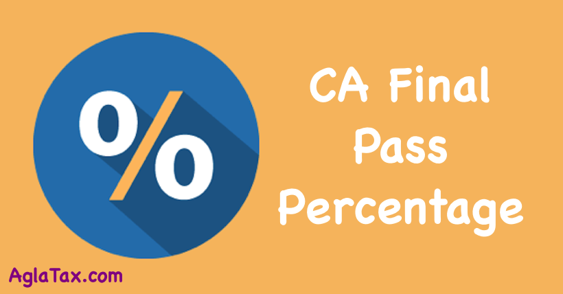 CA Final Pass Percentage