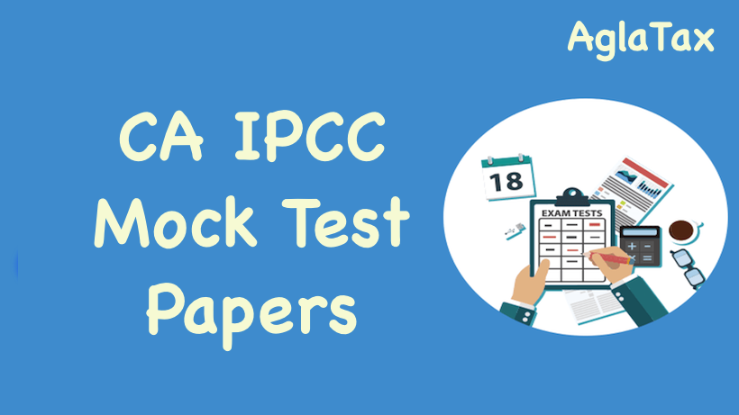 CA IPCC Mock Test Papers