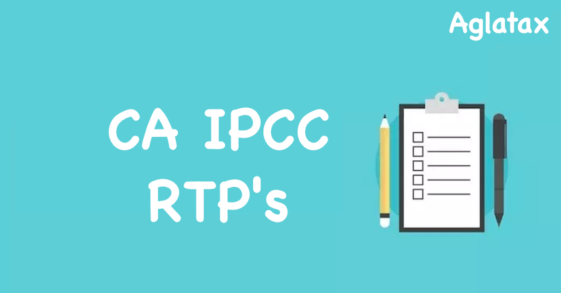 Ca ipcc rtp for may 18 exams | direct download.