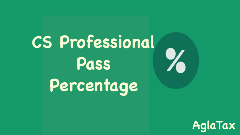 CS Professional Pass Percentage