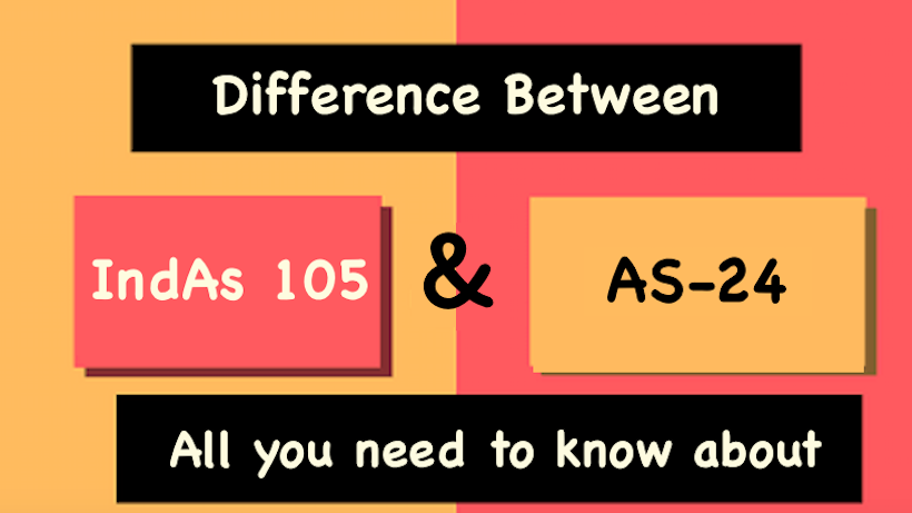 Difference Between AS 24 and Ind AS 105